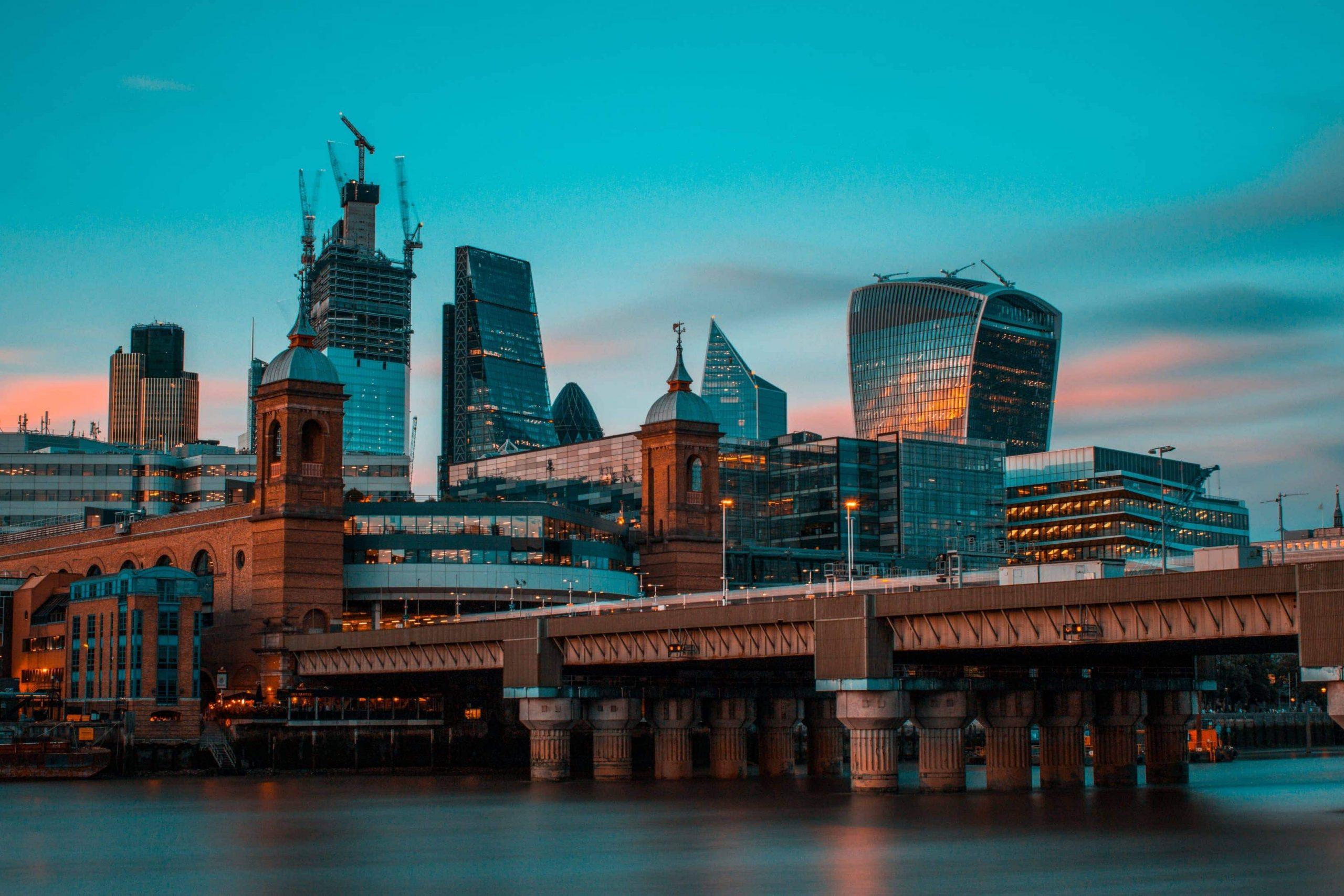 Blackfriars Bridge à Londres