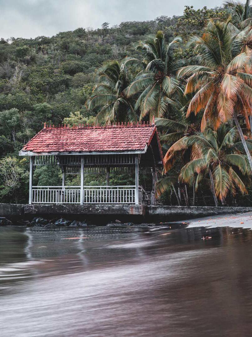 L'anse noire Martinique